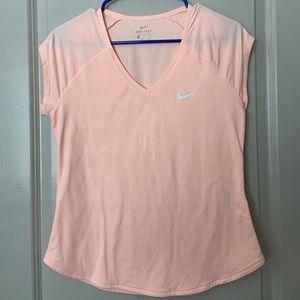 Dry-fit tennis shirt